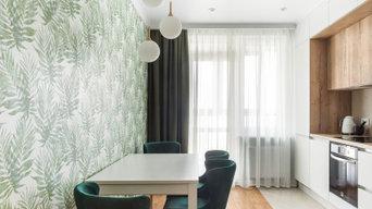 Фотосъемка интерьера квартиры, ЖК Морская звезда