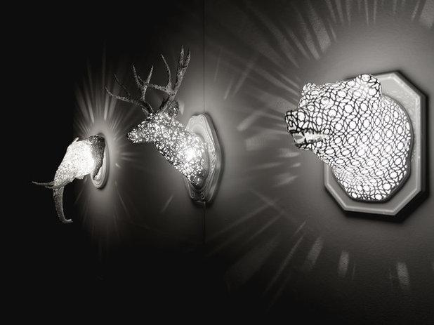 Contemporain Applique Murale Deer [animal-lace]