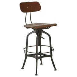 Rustic Bar Stools and Kitchen Stools by Premier Housewares