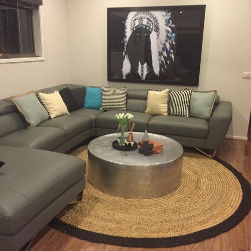 Arranging Throw Pillows On Sofa: How Should I Arrange My Throw Pillow/cushion On My J
