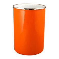 Reston Lloyd's Calypso Basic Enamel on Steel, Utensil Holder, Orange