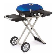Scissor Cart  -High Lid - Blue