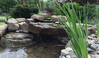 Charming Pond for Patio Border