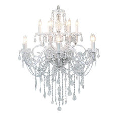 Authentic All Crystal Chandelier 12-Light