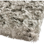 "Safavieh - Safavieh Shag 500 SG511-7575 8'6""x12' Silver Rug - This Hand Tufted rug would make a great addition to any room in the house. The plush feel and durability of this rug will make it a must for your home. Quick Delivery - Satisfaction Guaranteed"
