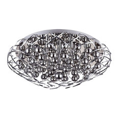Galaxy Flush Ceiling Light, 12 Bulbs