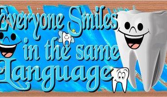 "Dentist Wood Signs, GS 2926, Dentist Plaque, 5""x10""x3/4"""