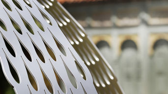 Six foil Galanthus Gazebo installed at Down House - detail