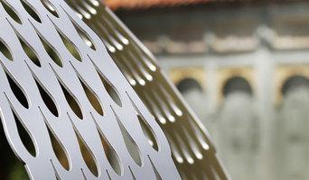 Six foil Galanthus Gazebo installed at Down House - detail