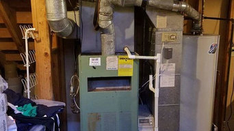Before and After Furnace installations