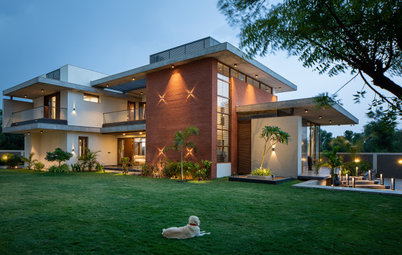 Ahmedabad Houzz: This Architect's Home Is One of Two Twin Houses