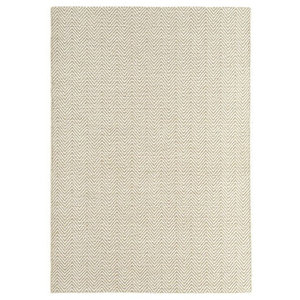 Ives Modern Rug  Ives Natural Rectangle Funky Rug 100x150cm