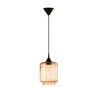 Small Boca Pendant Lamp, Amber