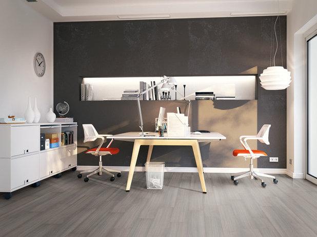 Contemporáneo Despacho by Flint Floor