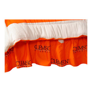College Covers Auburn Tigers Dust Ruffle
