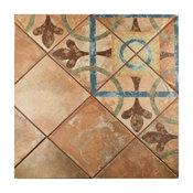 "8.75""x8.75"" Suffolk Newton Porcelain Floor and Wall Tiles, Cleveland"