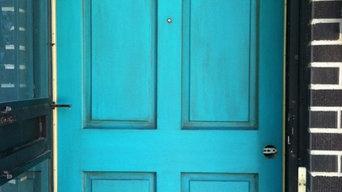 Dahl House Design Front Door