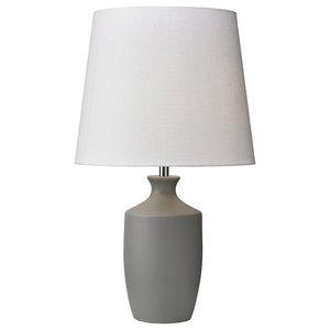 Ernest Table Lamp, Grey