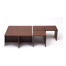 - Living Room 4 in 1 centre table.Nesting tables with a twist. Leave as a centre t - Coffee Table Sets
