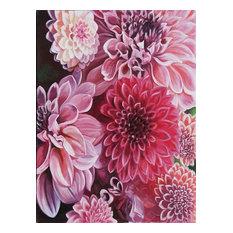 """FlowerFul"" Acrylic Painting, 60x80 cm"