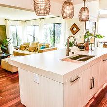 Tropical Modernism Kitchen Renovation