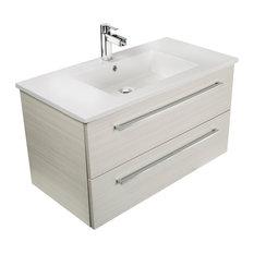 cutler kitchen u0026 bath silhouette 2drawer wallmounted vanity white chocolate