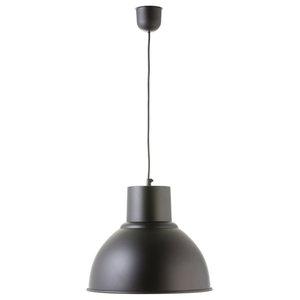 Small Industrial Pendant Lamp, Black