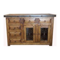 Rustic Saint Andrew Bathroom Vanity Reclaimed Wood Natural Wood 72 X 22 X 36