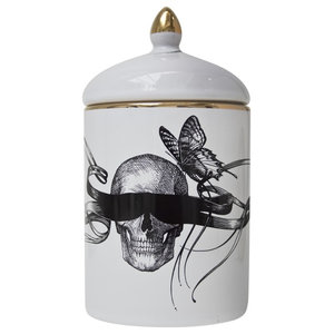 Masked Skull Cosy Candle
