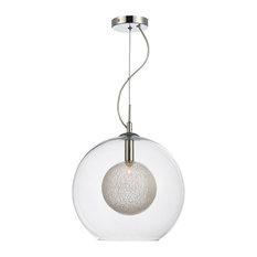 Orbital Globe Style Ceiling Pendant Light