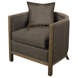 Transitional Armchairs And Accent Chairs by Mercana Furniture and Decor