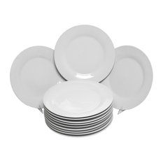 Catering Packs Round Dinner Plates, Set of 12