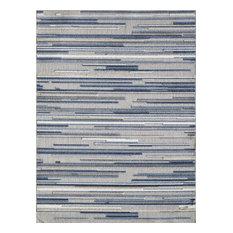Calla Denni Indoor/Outdoor Rug, Blue, 6'7 X 9'