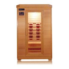 SunRay - SunRay Kensington 2 Person Infrared Sauna - Saunas