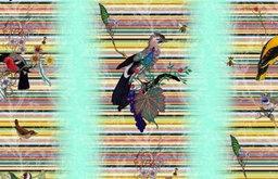 British Birds Wallcovering, Mint