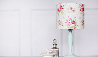 White Floral lampshade