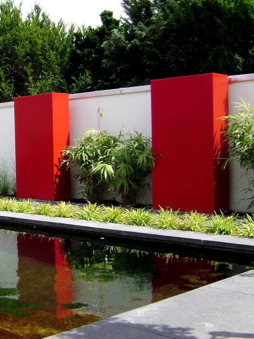 Murs en acier corten ou en fibre de verre