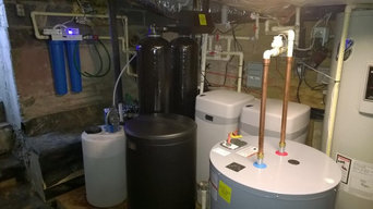 New Water treatment install - Irrigation and House units