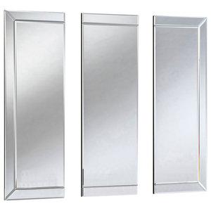 Trisha Wall Mirror, 30x91 cm, Set of 3