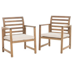 Transitional Outdoor Lounge Chairs by GDFStudio