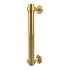 """1"""" Door Pull 8"""", Polished Brass"""
