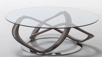 INFINITY Coffee table design Stefano Bigi for Porada