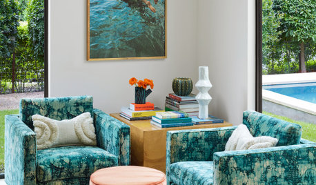 Houzz Tour: Chic and Fun Texas Party House for Longhorn Fans