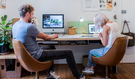 Creatives at Home: Alice and Richie in Their Living Room Studio
