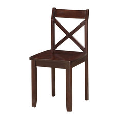Boraam Jamie Dining Chair In Cappuccino (Set Of 2)