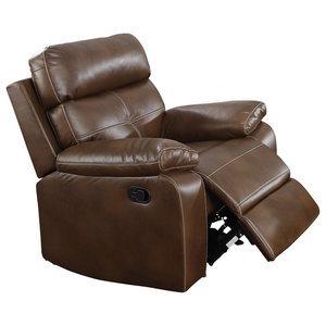 Genuine High End Leather Push Up Recliner Chair Art