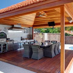 Stainless Steel Outdoor Alfresco Kitchen Perth