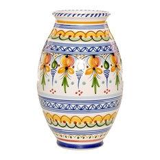 """Bolla Vase, 10"" Tall"