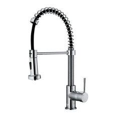 Vigo Industries Vigo Pull Out Spray Kitchen Faucet Chrome Without Extras