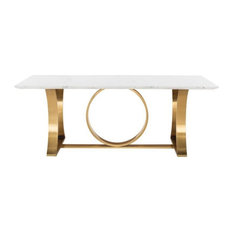 Galiana-dining-table-marble-top-white-marble-top-brushed-gold